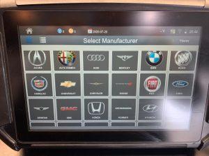 Car key coding machine