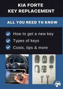 Kia Forte key replacement - All you need to know