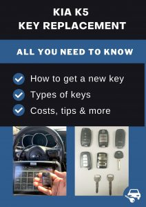 Kia K5 key replacement - All you need to know