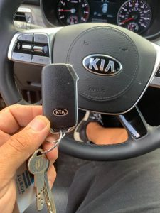Kia Optima Car Keys Replacement