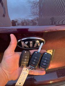 Kia flip keys