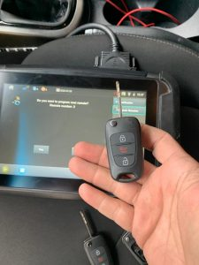 Transponder key replacement - by an automotive locksmith