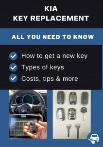 Kia key replacement - All you need to know