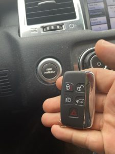 The newer the Land Rover key is the more expensive it is to get a replacement (2020 Key fob Land Rover)