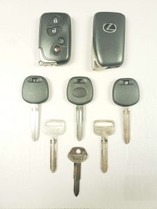 Lexus replacement car keys