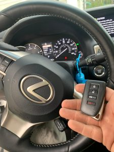 On-site coding service for Lexus keys