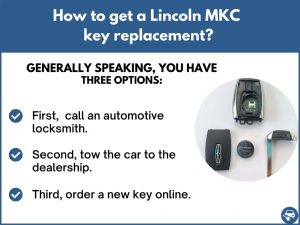 How to get a Lincoln MKC replacement key