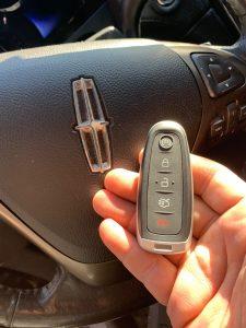 Lincoln smart key fob(164-R8094)