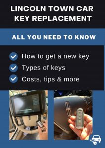 Lincoln Town Car key replacement - All you need to know