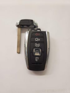 Lincoln MKS remote key fob battery replacement information (5929516/164-R8154)