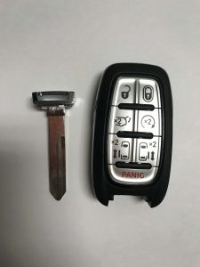 Chrysler Remote Car Key Replacement - Newer Fob - 2016,2017,2018,2019 Models