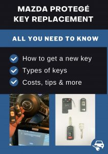 Mazda Protegé key replacement - All you need to know