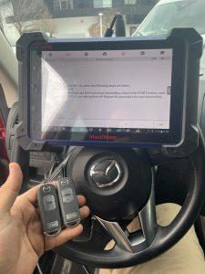 Mazda CX-7 car key programming tool