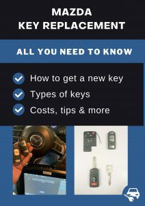 Mazda key replacement - All you need to know