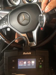 Programming Machine and Key Fob for Mercedes Models - Dealer only in most cases