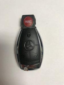 Mercedes remote car key replacement
