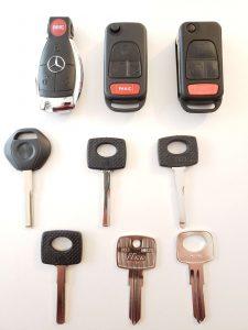 Mercedes keys replacement