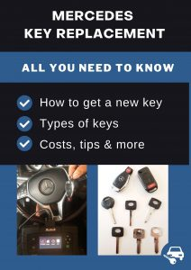 Mercedes key replacement - All you need to know