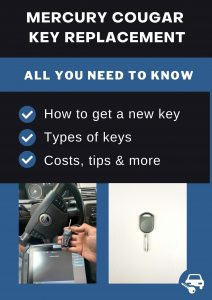 Mercury Cougar key replacement - All you need to know