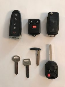 Mercury replacement car keys and keyless entry remote