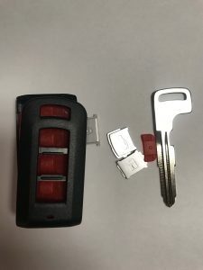 Fob Car Key Replacement - Mitsubishi