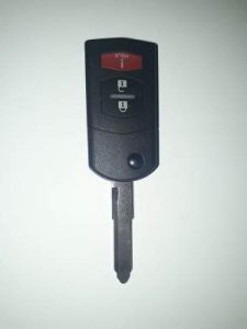 Mitsubishi Transponder Car Key Replacement OUCJ166N