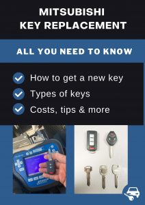 Mitsubishi key replacement - All you need to know