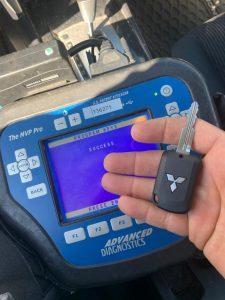 Mitsubishi key coding
