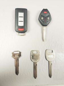 Mitsubishi replacement keys - Key fob, transponder and non-chip
