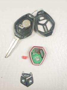 Transponder key Mitsubishi - Blank key (MIT17-PT) - Inside look