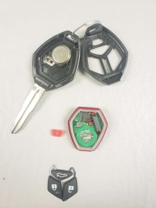 Transponder key replacement - Mitsubishi - Inside look