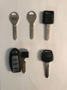 Lost Nissan Car Keys Replacement