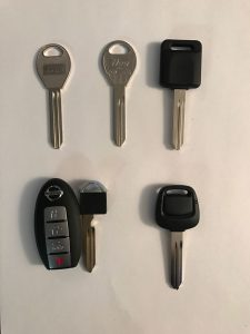 Nissan Cube Car Keys Replacement