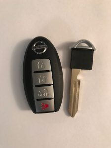 2018 Nissan Leaf Remote Car Key Replacement - CWTWB1G0168