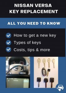 Nissan Versa key replacement - All you need to know