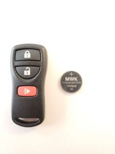 Nissan Keyless Entry Remote Replacement