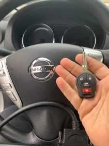 Original Nissan key replacement