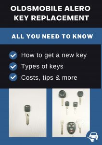 Oldsmobile Alero key replacement - All you need to know