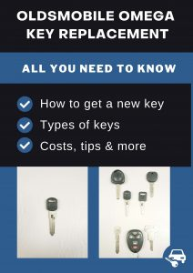 Oldsmobile Omega key replacement - All you need to know