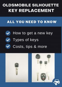 Oldsmobile Silhouette key replacement - All you need to know