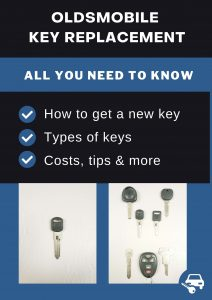 Oldsmobile key replacement - All you need to know