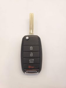 Kia Optima Flip key battery replacement information