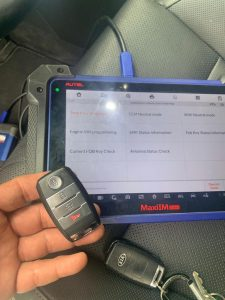 Most Kia keys require on-site coding with a special machine