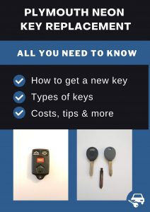 Plymouth Neon key replacement - All you need to know