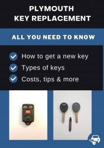 Plymouth key replacement - All you need to know