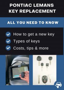 Pontiac LeMans key replacement - All you need to know