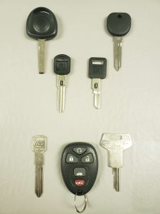 Pontiac replacement keys