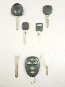 Oldsmobile Starfire Keys Replacement