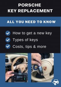 Porsche key replacement - All you need to know
