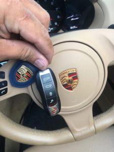 Key fob - Porsche